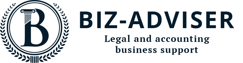 Biz-adviser – legal and accounting support for business Logo